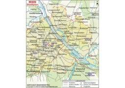 Stadtplan Wien  - Digital File