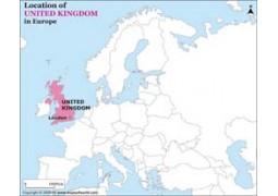 UK Location Map - Digital File