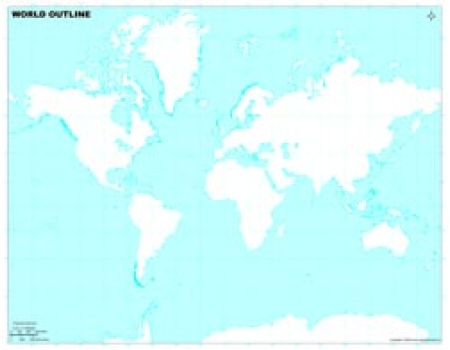 Buy world outline map in mercator projection in light background world outline map in mercator projection in light background gumiabroncs Gallery