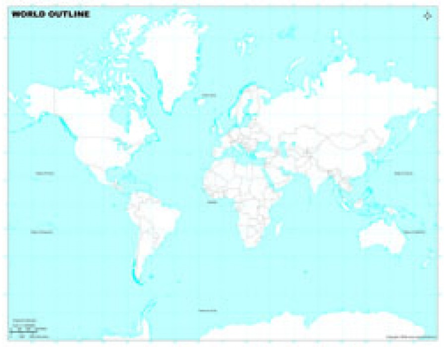 Buy world map in miller projection light blue background world map in miller projection light blue background gumiabroncs Image collections