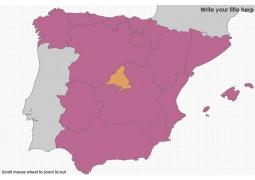 Political Map of Spain Spain Autonomous Communities Map