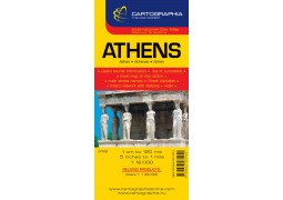 City Map of Athens by Cartographia