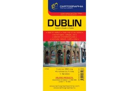 City Map of Dublin by Cartographia