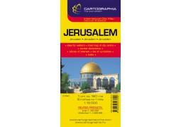 City Map of Jerusalem, Israel