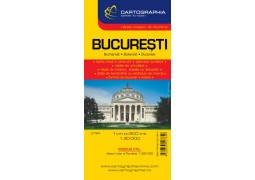 City Map of Bucharest by Cartographia