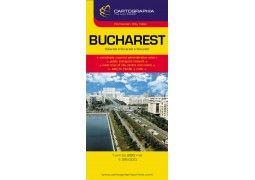City Map of Bucharest Metro Area by Cartographia