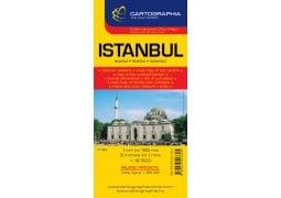 City Map of Istanbul, Turkey by Cartographia
