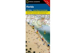 Florida GuideMap-Road Map & Travel Guide by National Geographic Maps