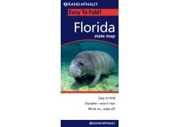 Easy to Fold State Map of Florida by Rand McNally