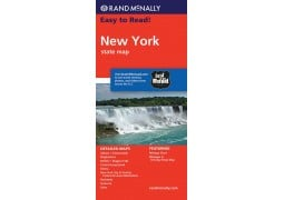 Easy to Read New York State Map