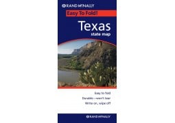 Easy to Fold Texas State Map