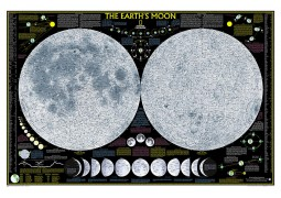 The Moon Laminated Poster by National Geographic