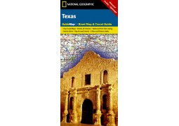 Texas Guide Map by National Geographic Maps