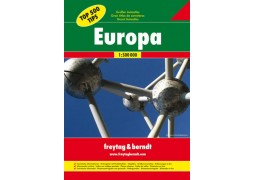 Europe Great Road Atlas, hardcover