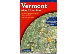 Vermont Atlas and Gazetteer by Delorme Mapping