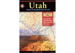 Utah Road and Recreation Atlas by Benchmark Maps