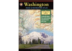 Washington Road and Recreation Atlas by Benchmark Maps