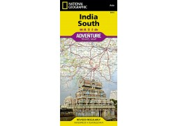 India, South Adventure Map by National Geographic Maps