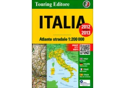 Italy Road Atlas by Touring Club Italiano