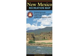 New Mexico recreation map : detailed backroads, extensive recreation listings, public lands, wildlife management units