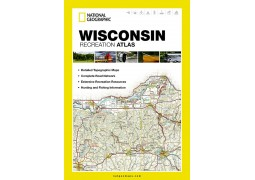 Wisconsin Recreational Atlas by National Geographic Maps
