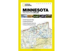 Minnesota Recreational Atlas by National Geographic Maps
