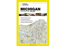 Michigan Recreational Atlas by National Geographic Maps