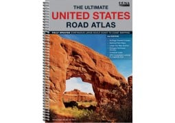 The Ultimate United States Road Atlas by Hema Maps