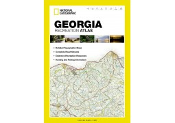 Georgia Recreational Atlas by National Geographic Maps