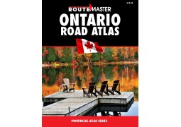Ontario Deluxe Atlas by Route Master