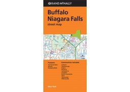 Buffalo and Niagara Falls Street Map