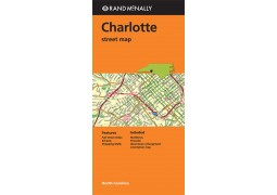 Charlotte Street Map by Rand McNally