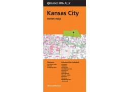 Kansas City Street Map by Rand McNally