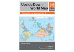 World, Upside Down by Hema Maps