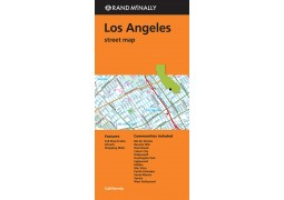 Los Angeles Street Map by Rand McNally