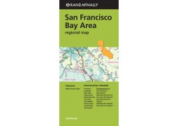 San Francisco Bay Area Regional Map by Rand McNally
