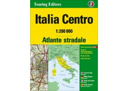 Italy Central Road Atlas by Touring Club Italiano