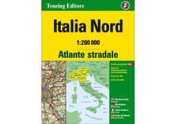 Northern Italy Road Atlas by Touring Club Italiano