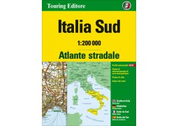 Italy Southern Road Atlas by Touring Club Italiano
