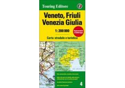 Veneto and Friuli-Venezia Giulia, Italy by Touring Club Italiano