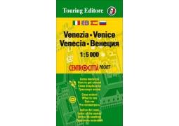 Venice, Italy Pocket Map by Touring Club Italiano