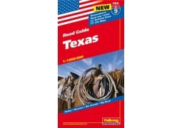 USA 9: Texas Road Guide by Hallwag