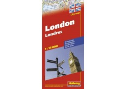 London City Map by Hallwag - Digital File
