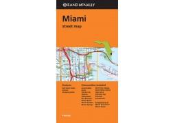 Miami Street Map by Rand McNally