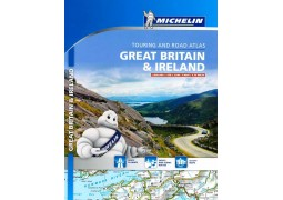 Great Britain & Ireland, Touring and Road Atlas (122) by Michelin Maps and Guides (Firm)