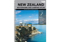 New Zealand-Motorhome and Camping Atlas by Hema Maps