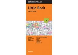Little Rock Street Map Arkansas by Rand McNally