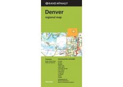Denver, Colorado Regional by Rand McNally