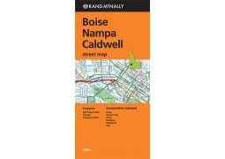 Boise, Nampa and Caldwell Street Map by Rand McNally