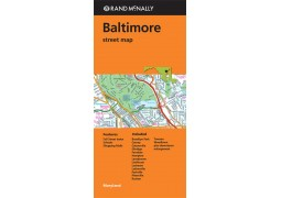 Baltimore Street Map by Rand McNally